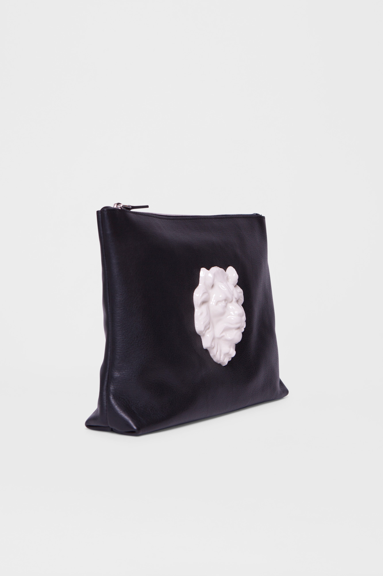 Pouch Lion Head Black