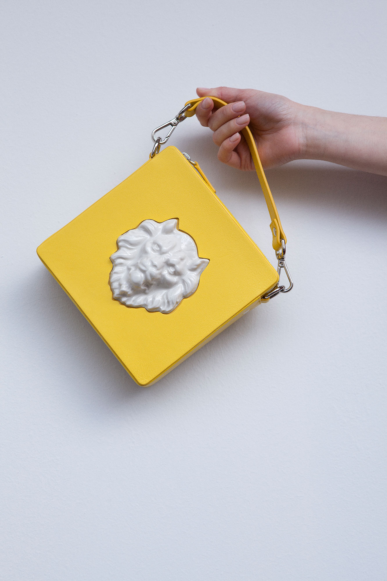Square Lion Bag Yellow