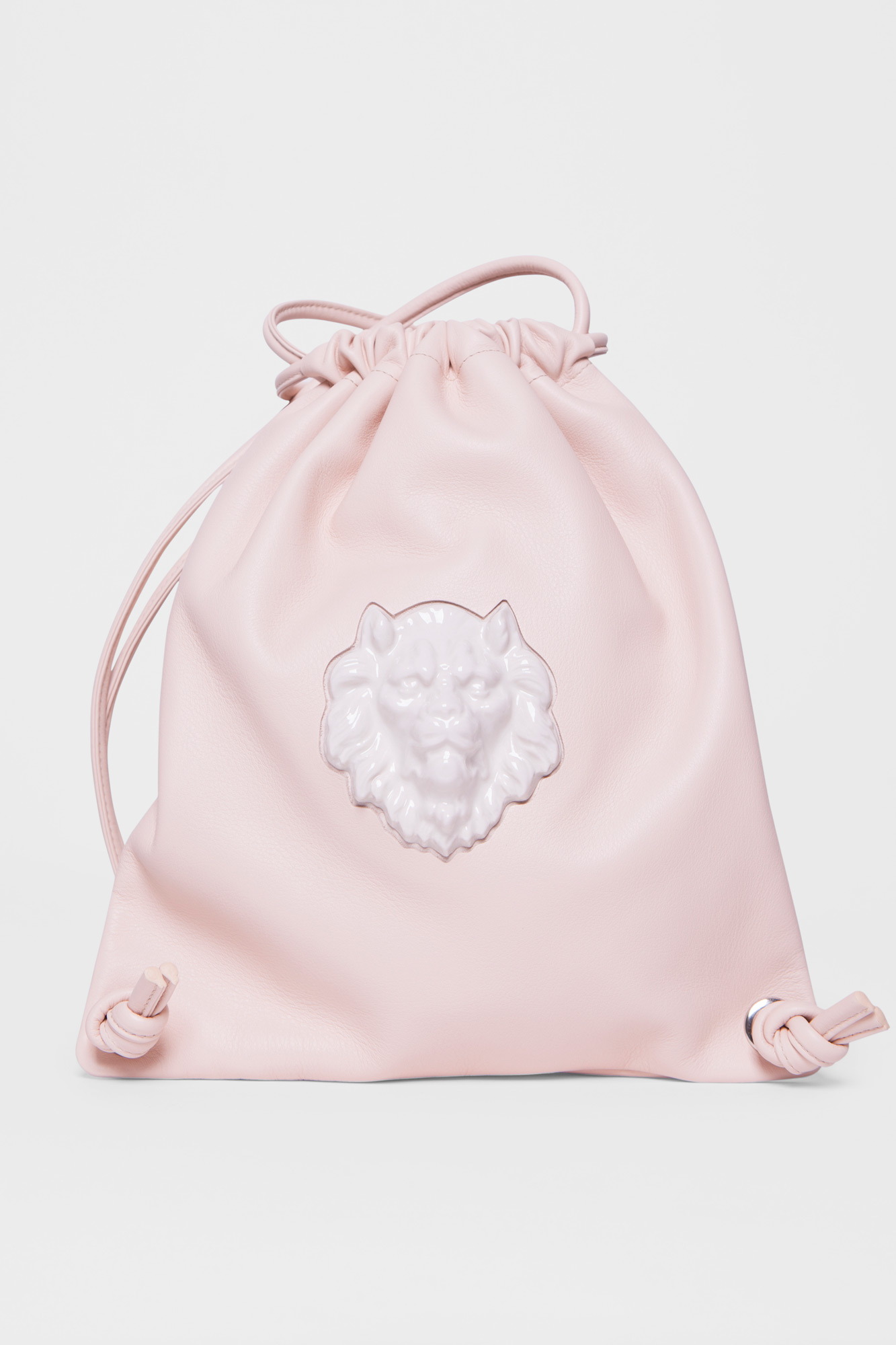 Sac Backpack Lion Head Natural