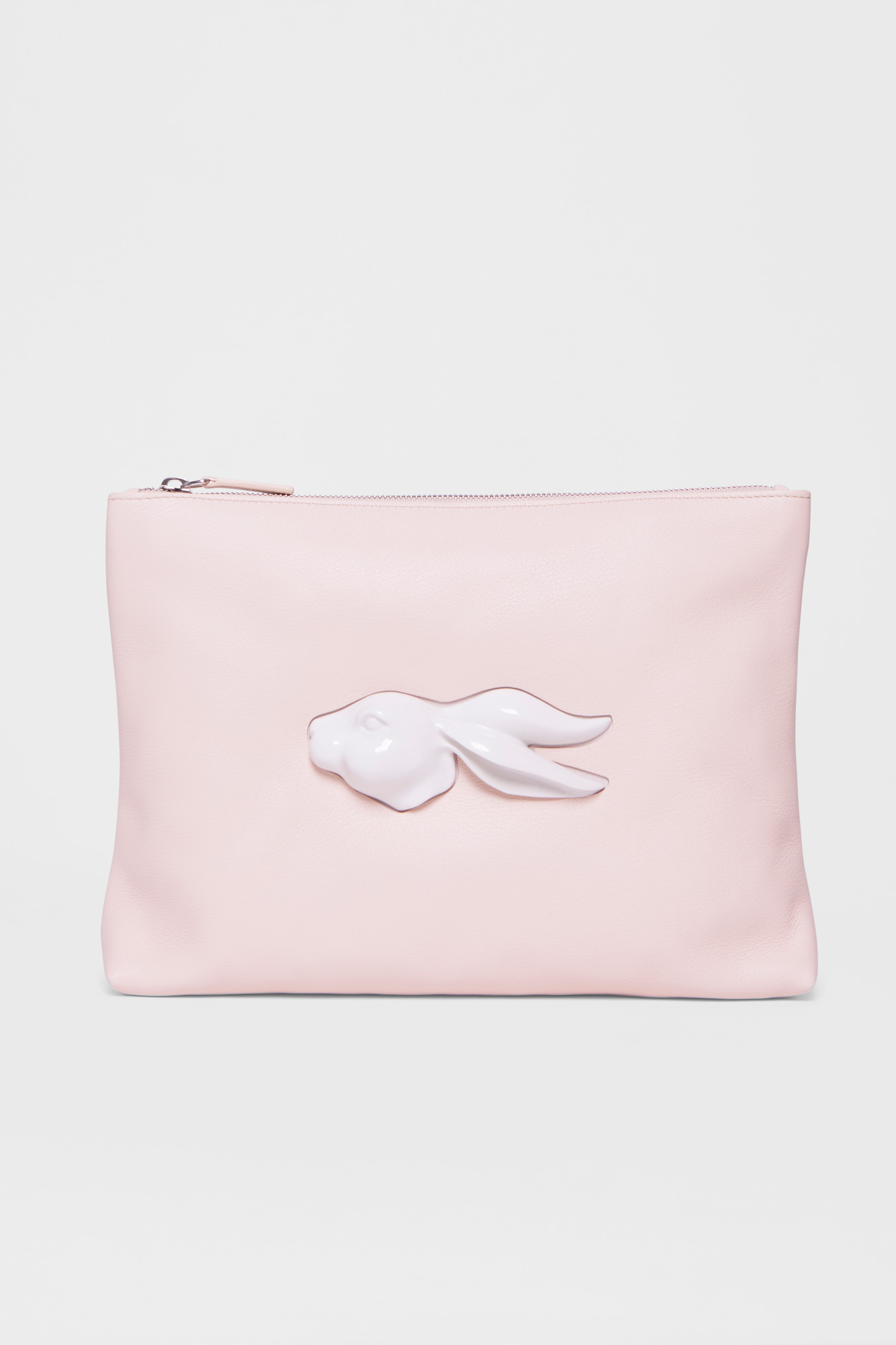 Pouch Rabbit Head Natural