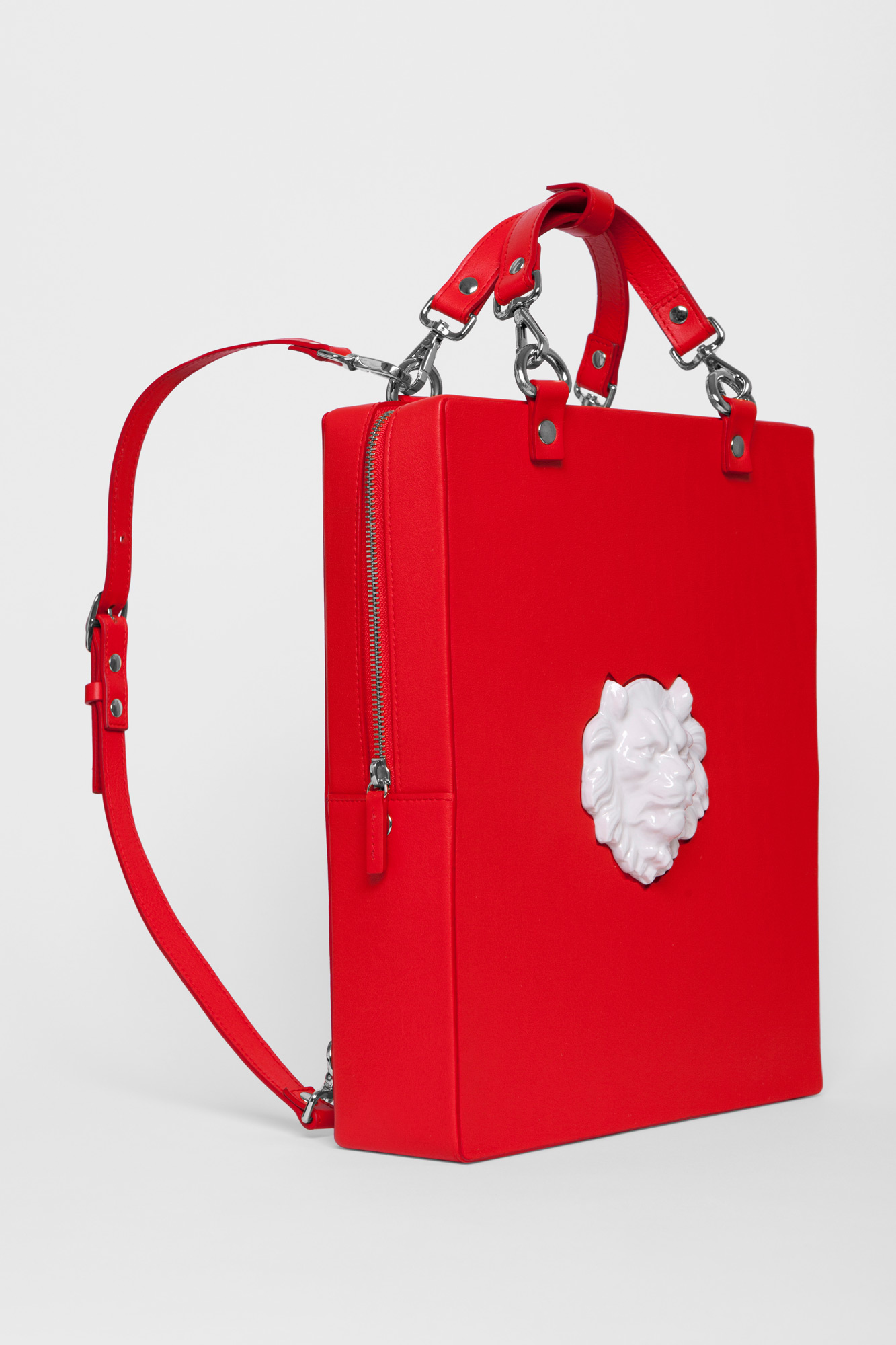 Backpack Lion Red