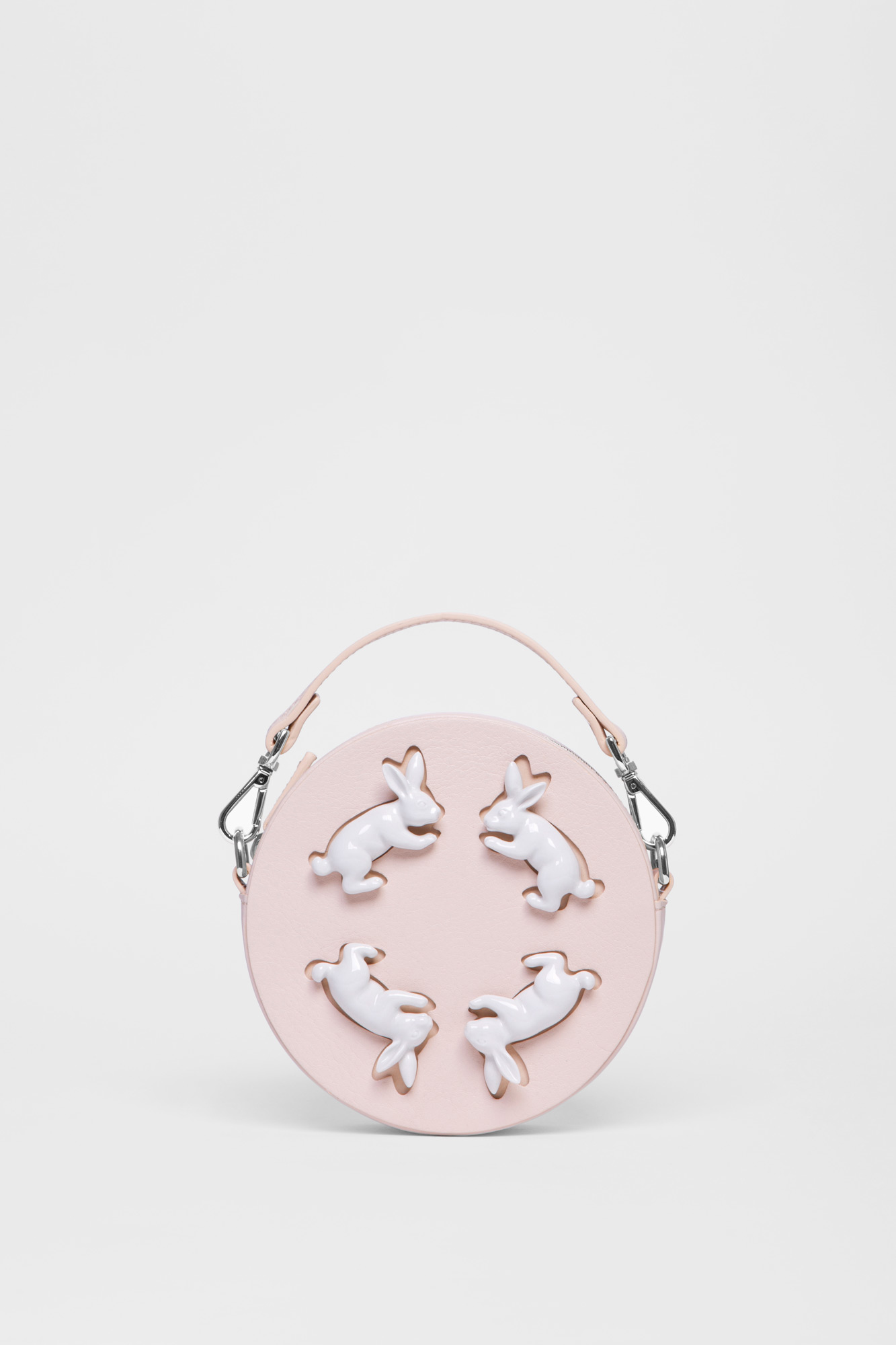 Round Rabbits Mini Bag Natural