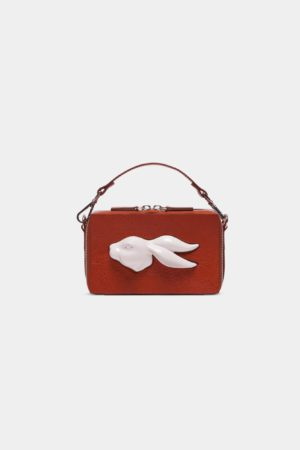 Rectangular Rabbit Head Bag Vegetable Brandy