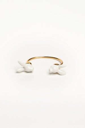 rabbit head bracelet