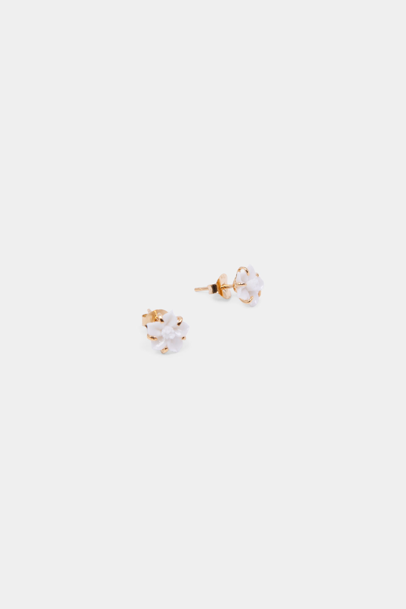 Baby Petunia Earrings