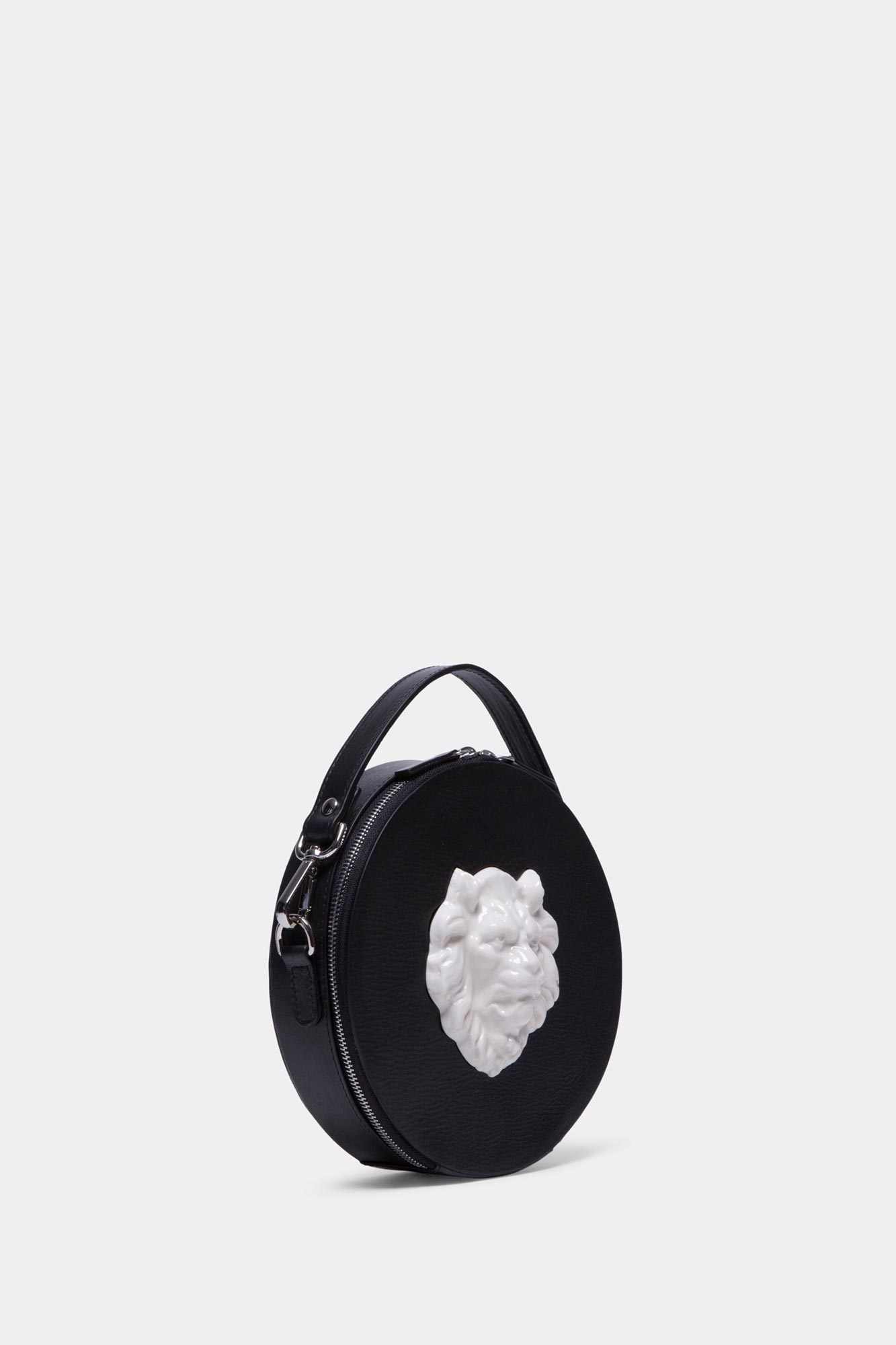 Round Lion Bag Vegetable Black