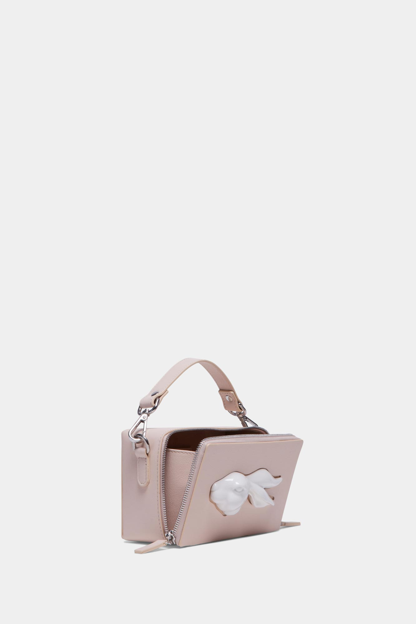 Rectangular Rabbit Head Bag Natural