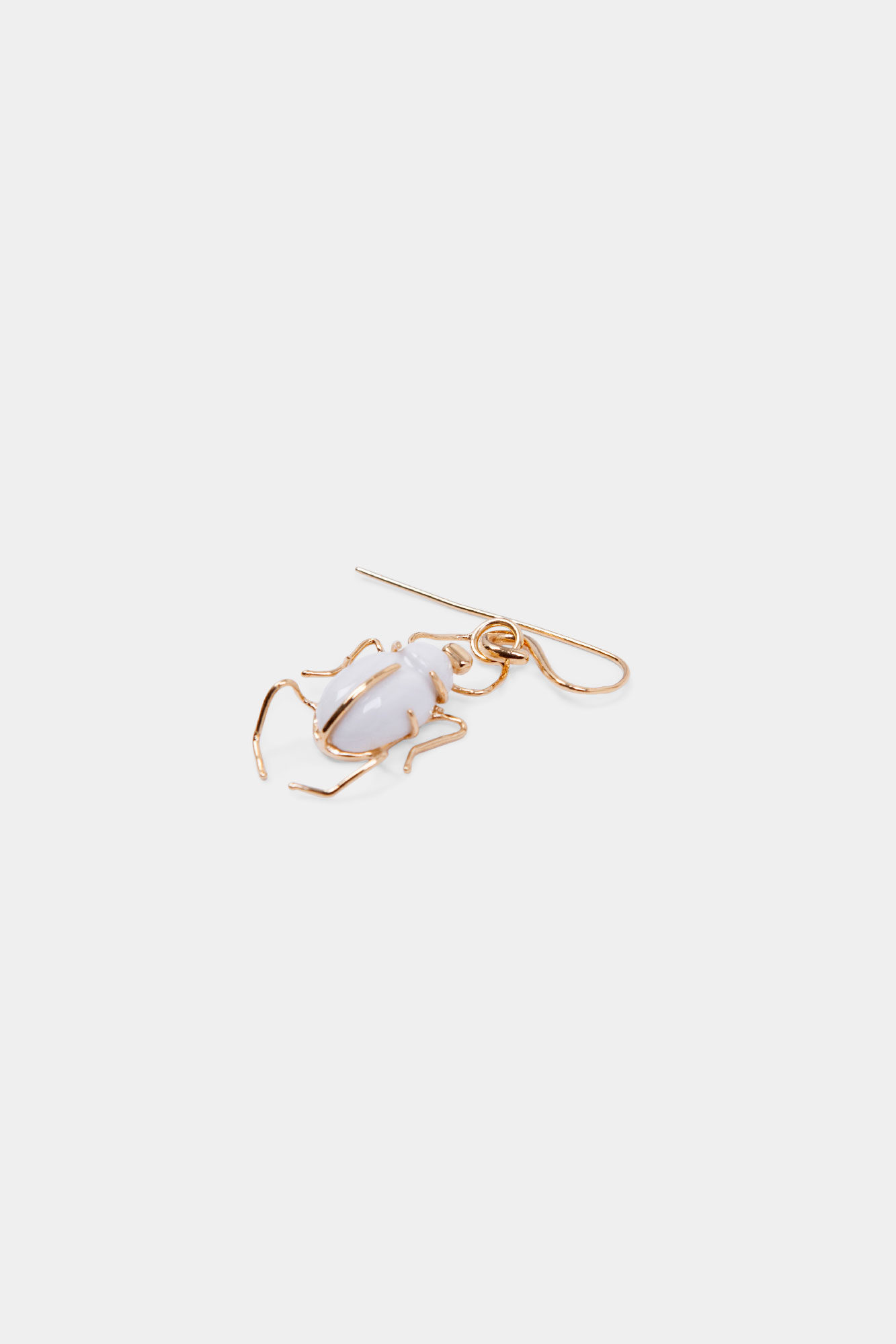 Scarab Hook Earrings