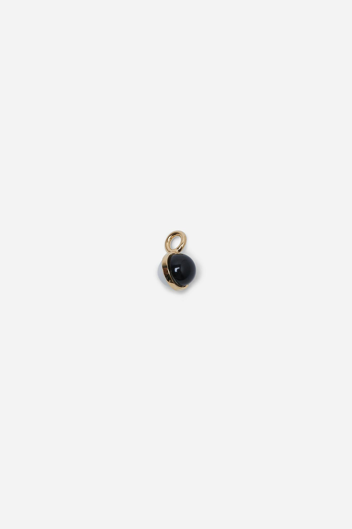 Mini Balloon Charm Black