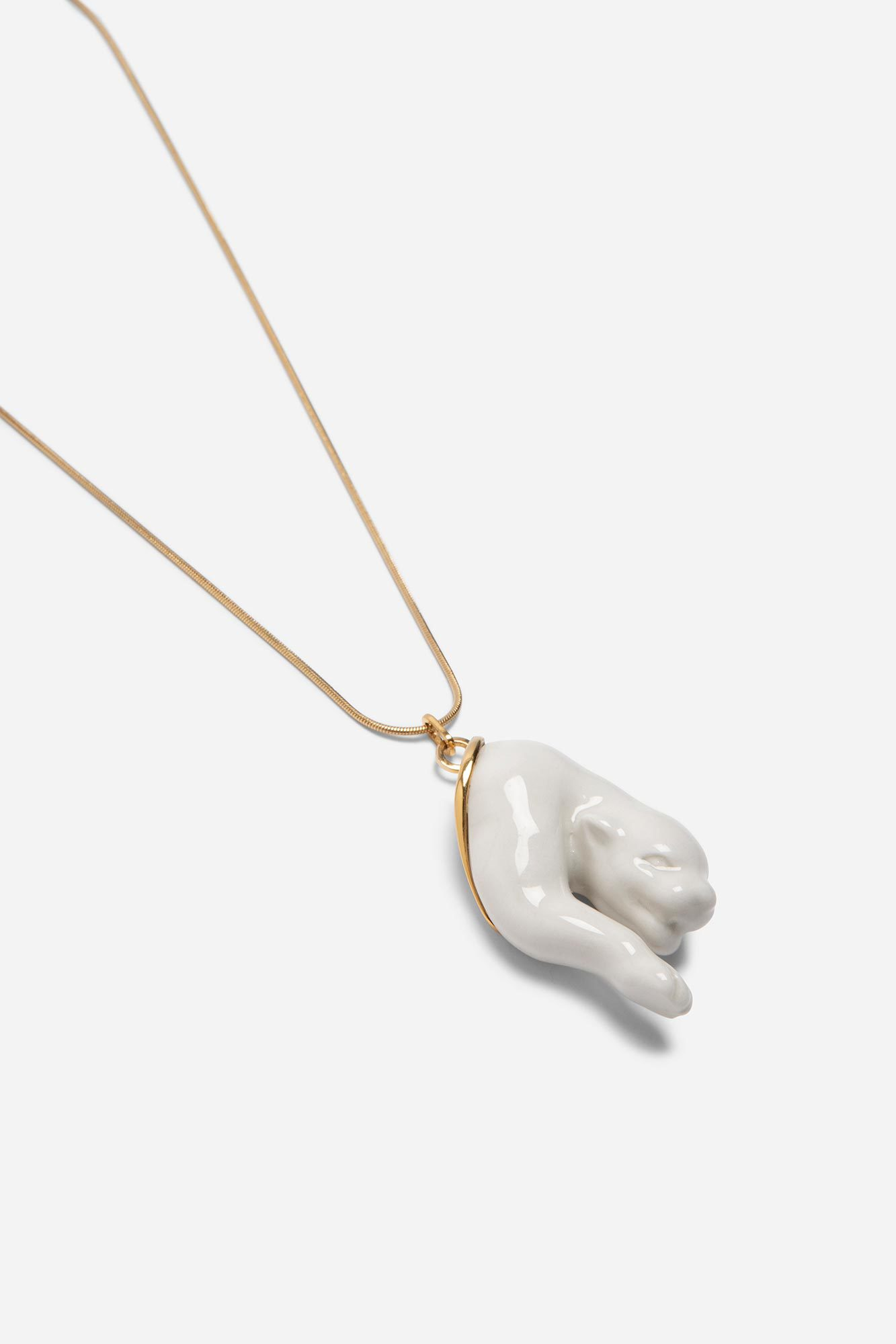 Broken Panther Pendant