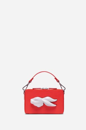 Rectangular Rabbit Head Bag Coral