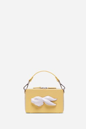 Rectangular Rabbit Head Bag Lemon