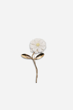Daisy Stern Big Pin Gold
