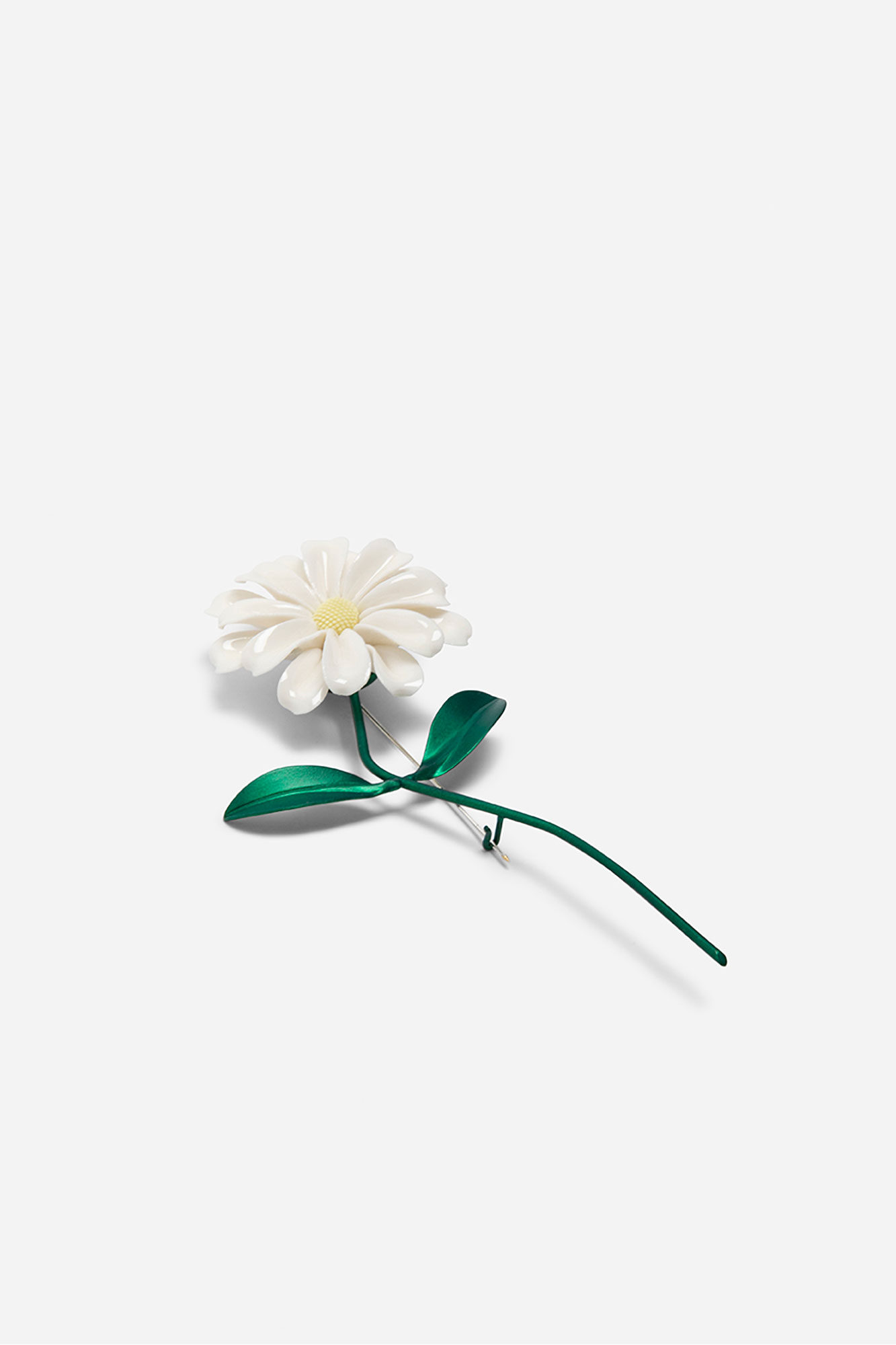 Daisy Stern Big Pin Green