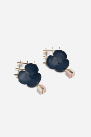 Chess Garden Earrings
