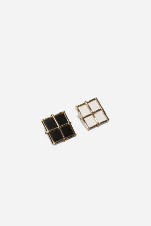 Grid Set Earrings