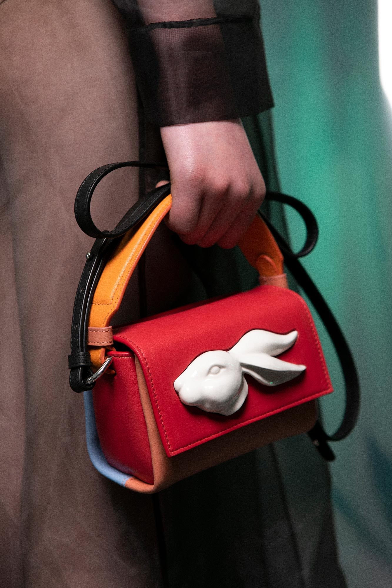 Flap Mini Rabbit Head Bag FW19