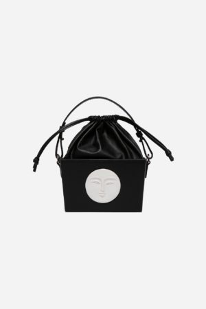 Bombonera Moon Bag Black