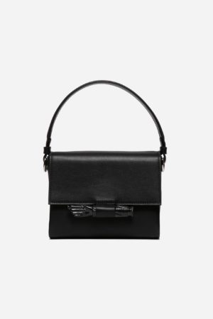 Flap Figa Bag Black