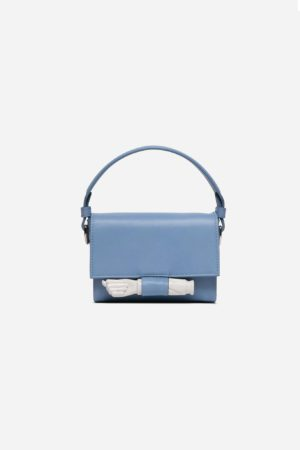 Flap Mini Figa Bag Ciel