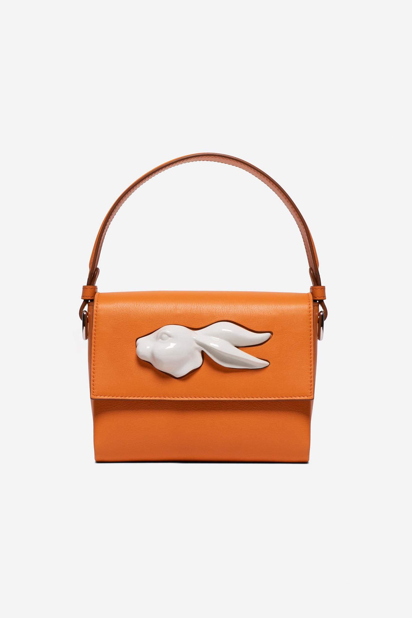 Flap Rabbit Head Bag Yam