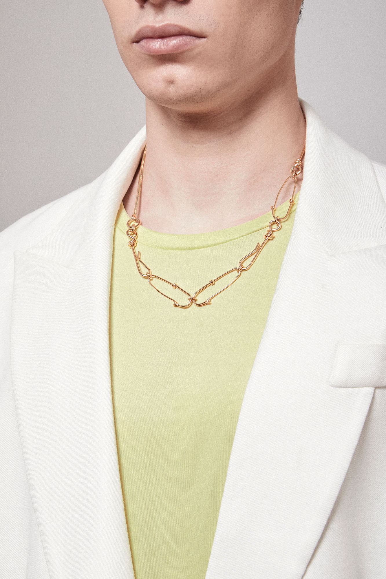 TACKLE CHAIN NECKLACE