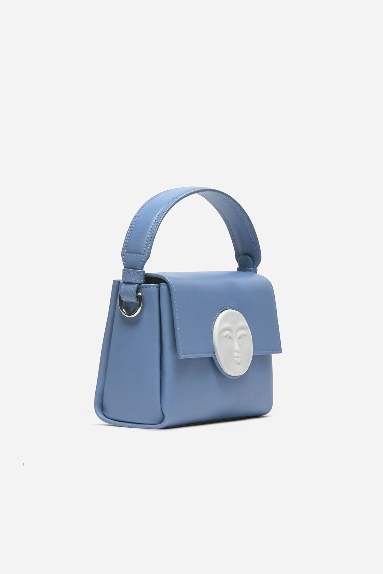 Flap Moon Bag Ciel