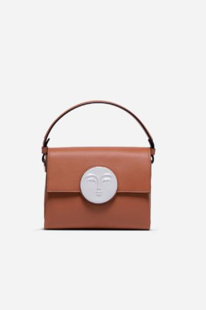 Flap Moon Bag Camel