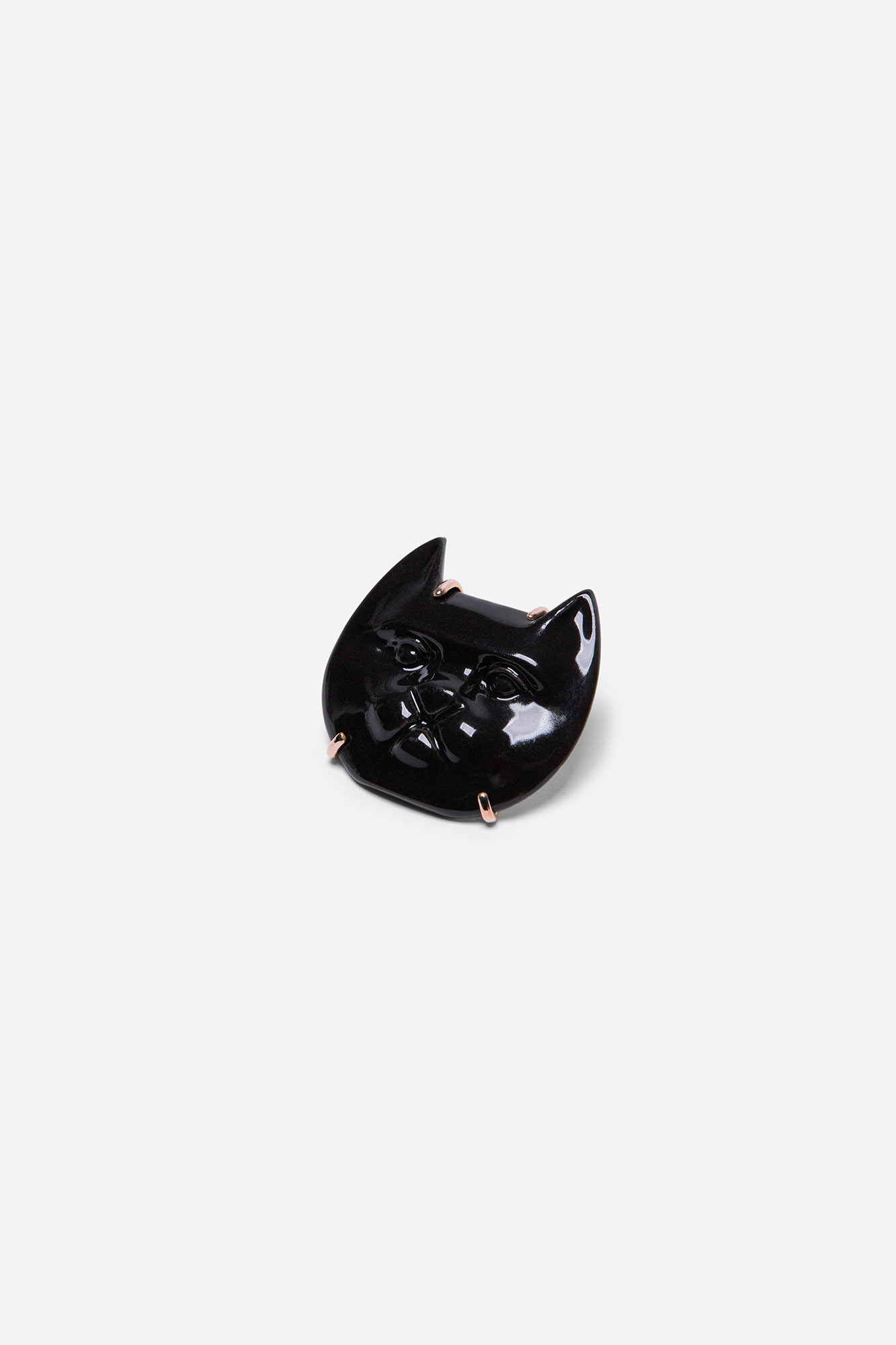 Cat Face Med Pin