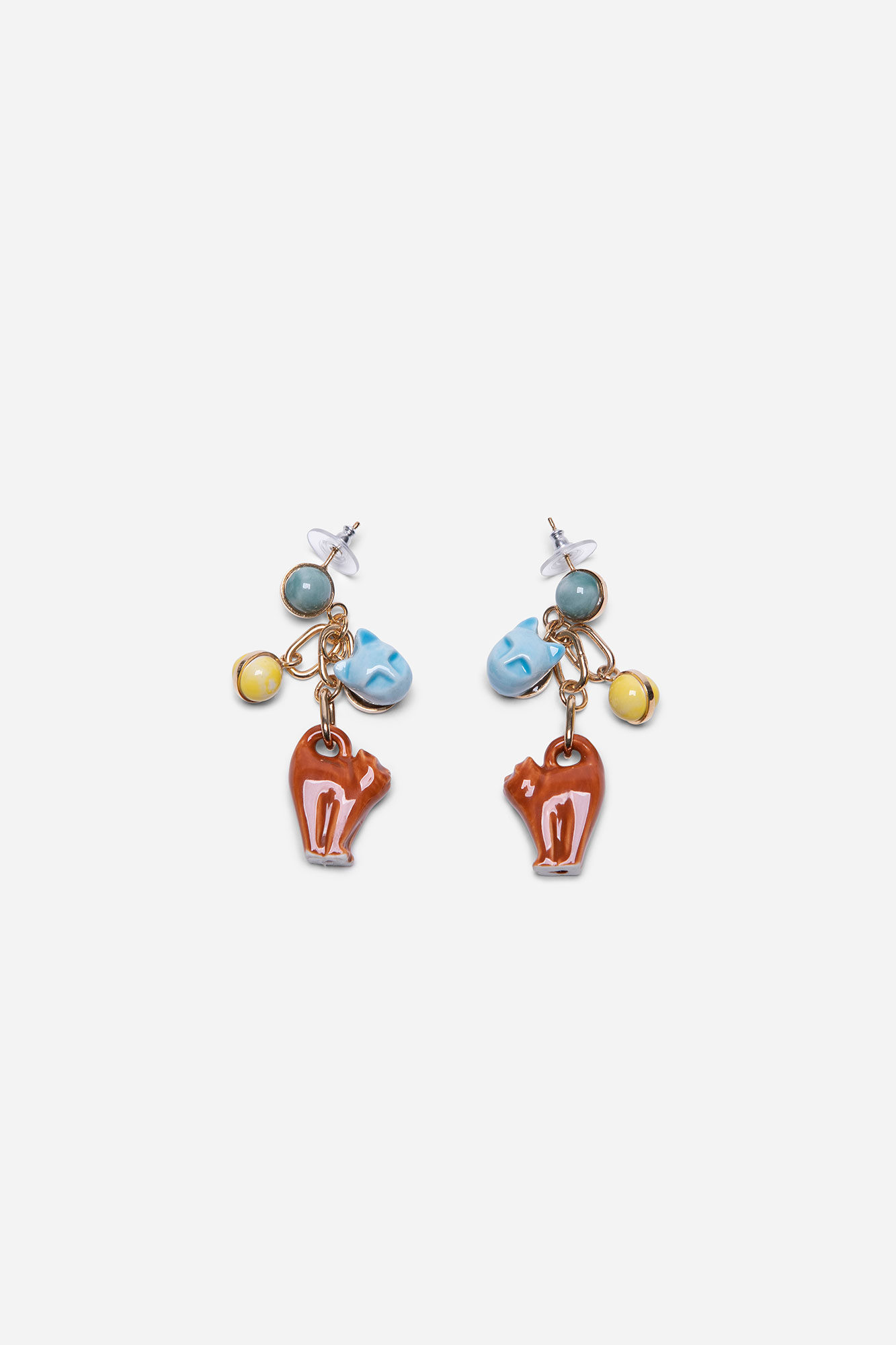 Meow Charms Earrings