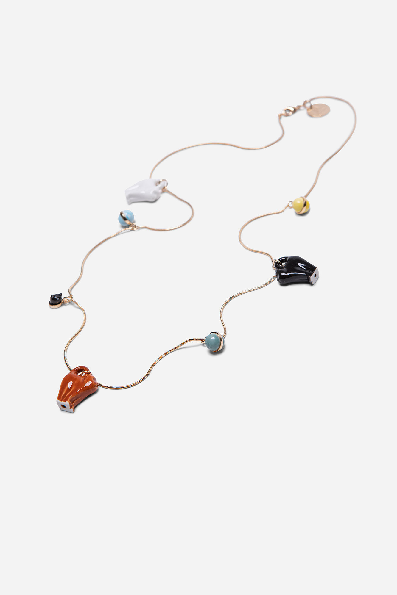Meow Charms Necklace