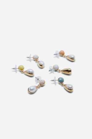 Buoy Pearl Earrings