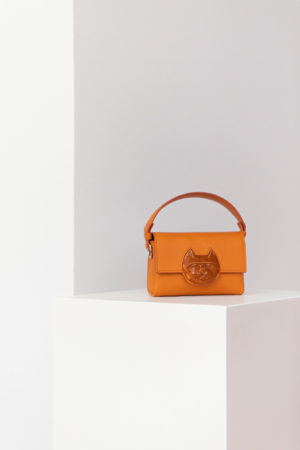 Flap Mini Cat Head Bag