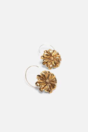 DAISY BIG EARRINGS GOLD