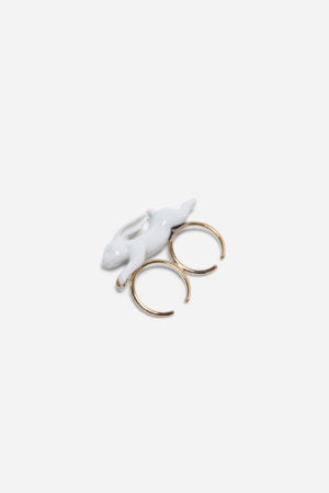 MINI RABBIT DOUBLE RING